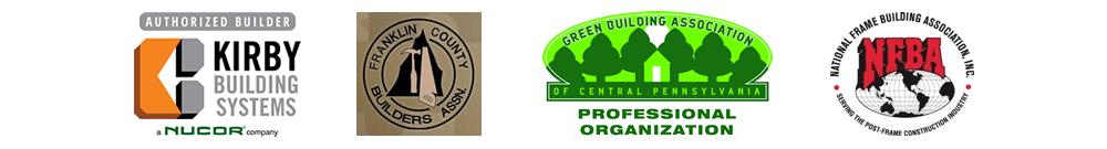 Building affiliations logos